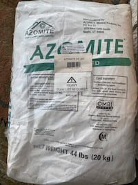 2 x 44lb bags of Azomite for your garden