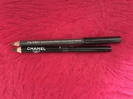 CHANEL & SHISEIDO: EYEBROW PENCIL, EYELINER