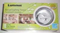 Five Luminus Recessed Lighting Fxtures With 13w GU24 Bulbs NIB London