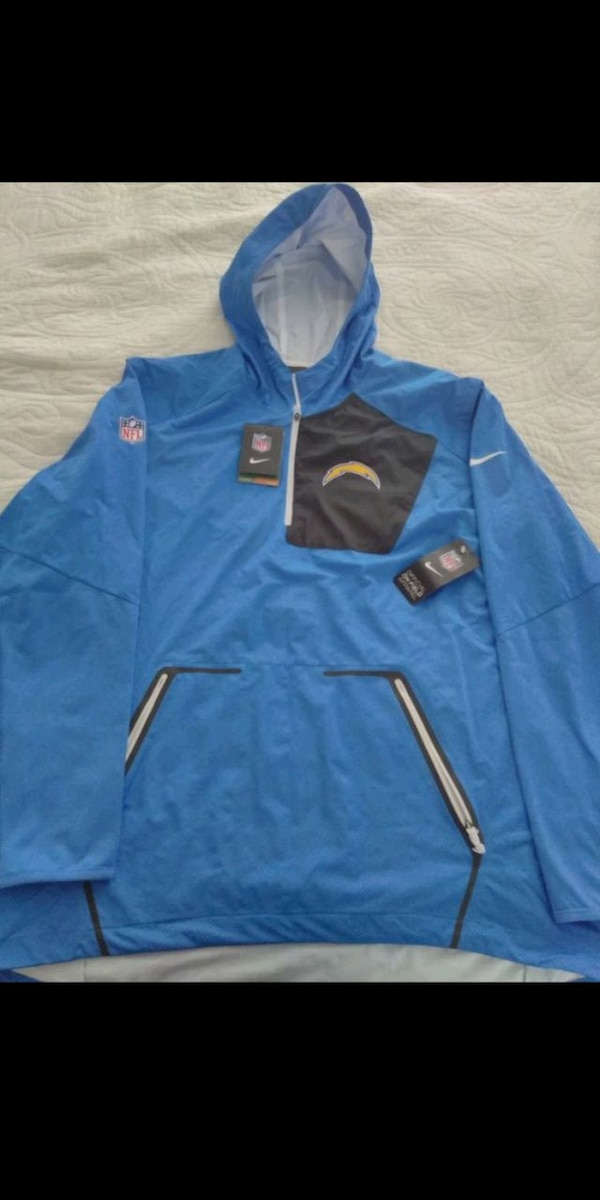 quality design c37e4 60c99 Los Angeles Chargers Nike Hoodie Jacket