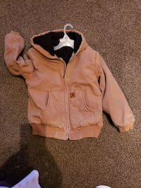 Boys carhartt winter jacket Medium 10-12