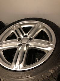 Set of 4 Replica Audi wheels with Michelin xice-3 winter tires Mississauga, L5J 4E6