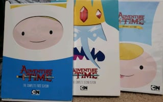 Adventure Time DVDs