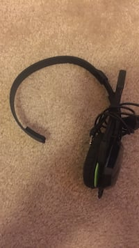 Black single ear corded headset Alexandria, 22304