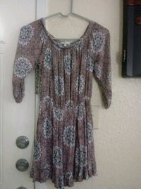 Charlotte russe blouse/dress size small