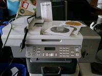 white and black Brother photocopier machine Tampa, 33615