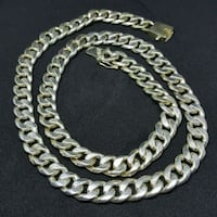 Mexican Silver Necklace 4 Man. Toronto, M9N 3V3
