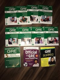 GRE study books- Manhattan Prep Rock Hill, 29730