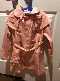 Girls coat for height 130 cm new never wore London, N6H 2Y1