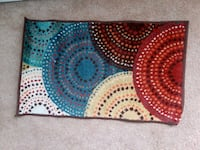 "COLORFUL CIRCLES MAT 20""x34"" 224 mi"