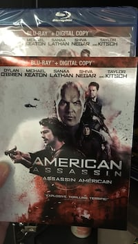 American Assassin Blu-ray disc case Toronto, M4Y