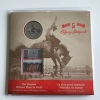 2012 Canada Mint Calgary Stampede Limited Edition 50c + Stamp Calgary, T2R 1K5