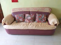 pink and white floral sofa Singapore