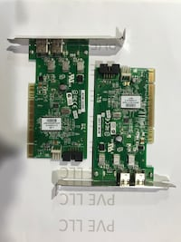 Dell 2 Port Firewire Pci Adaptec Afw-2100 Firewire Card IEEE1394 CR656 null