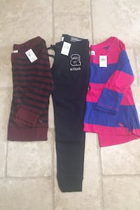 Abercrombie girls clothes size medium. Brand new with tags. Deer Park, 11729
