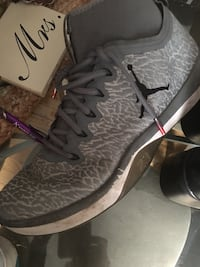 pair of gray Nike basketball shoes Nowthen, 55303