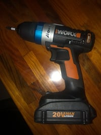 black and gray Porter Cable cordless hand drill Bradford West Gwillimbury, L3Z