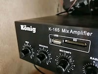 SON DEFA. -  KÖNİG K-165 MİX AMPLİFİER