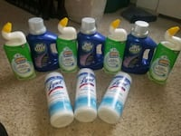 assorted household cleaning products lot Silver Spring, 20910