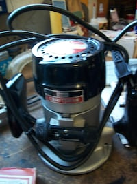 Craftsman router with accessories Langdon