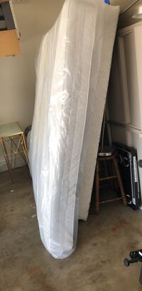 queen size mattress with box spring and frame Hacienda Heights, 91745