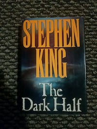 1st edition print Stephen King...The Dark Half