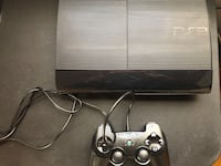 Play station 3 500gb, good condition in box + games 5$ each