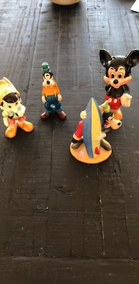 Vintage disney figurines