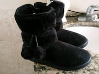pair of black suede boots Frederick, 21703