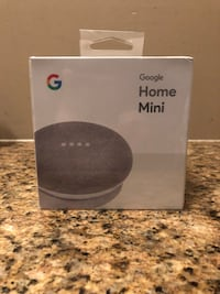 Google Home Mini Chalk - Brand New Sealed