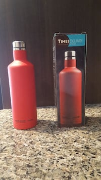 red Times Square vacuum flask with box Edmonton, T6X 0W7