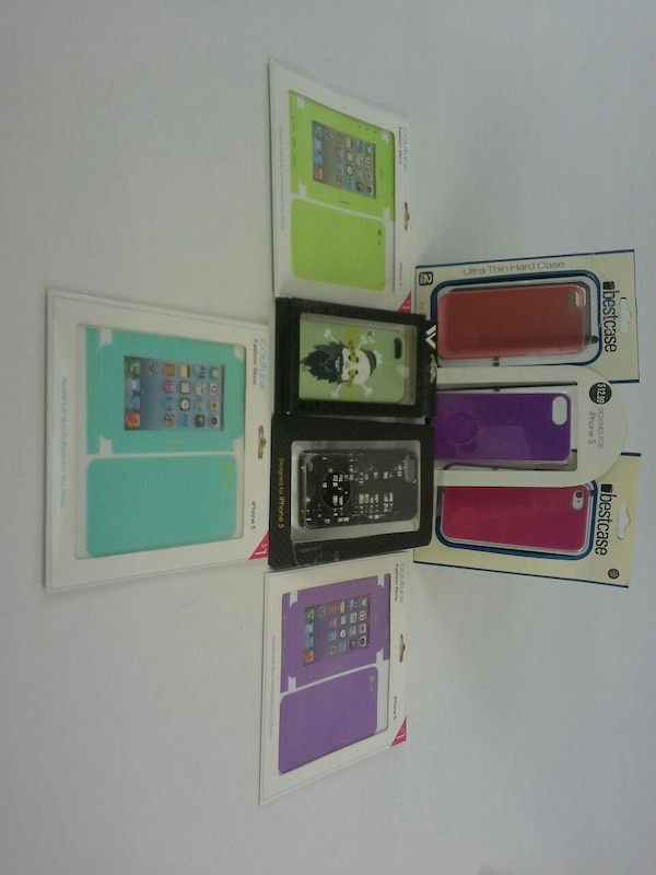 New iphone 5/5s cases and skins