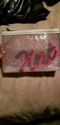 VS Victoria's Secret PINK Cosmetics Beauty Bag. NWT