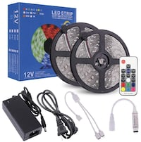 LED Strip Lights 32.8ft, High Sensibility 17Key RF Remote and Controll Piscataway, 08854