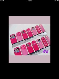 Nail Stickers/Water Nail Decals