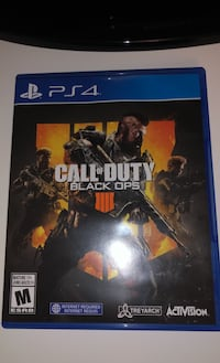 Black ops 4 for sell in good condition Toronto, M6A 2R9