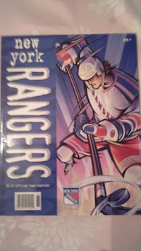 New York  Rangers  official 96 97 team yearbook. Yonkers, 10701