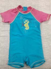 toddler's blue and pink onesie Laval, H7G 2W7