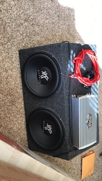 2 12 in subs in box and amp new Oklahoma City, 73139