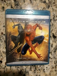 Coolest Spiderman 3 DVD Blu-ray Movie!