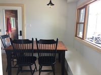 Wood Dining table and 4 chairs Bracebridge, P1L 1X2