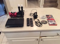 PS3 Slim 500GB With accessories and game bundle Tampa, 33647
