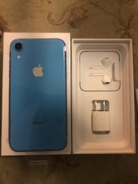 iPhone xr blue.  $500.  Ships from Quebec.  Read ad Toronto