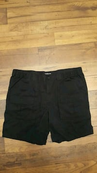 Croft&barrow size 48 black shorts Corona, 92879