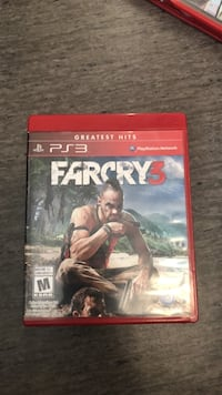Sony PS3 Farcry 3 case Abbotsford, V2T 4N6