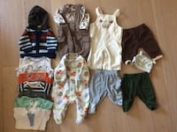 toddler's assorted clothes Fullerton