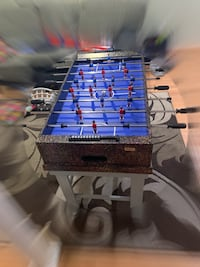 Customized Cooper Foosball Table with a free Foosball