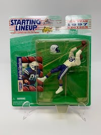 Vintage Indianapolis Colts Great Marvin Harrison STARTING LINEUP ACTION FIGURES (1) [Brand New] Washington, 20016