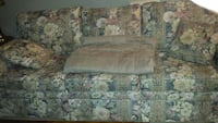 floral 3 seat sofa has matching wing chair  Collingwood, L9Y 3T3