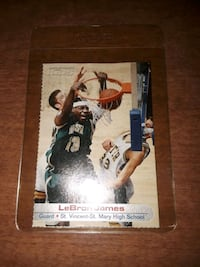 LeBron ROOKIE card !  Reading, 19602